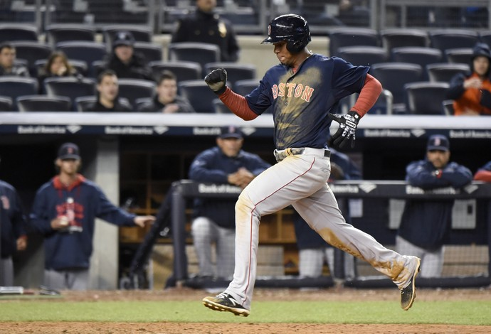 beisebol, mlb, boston red sox x new york yankees (Foto: AP Photo/Bill Kostroun)