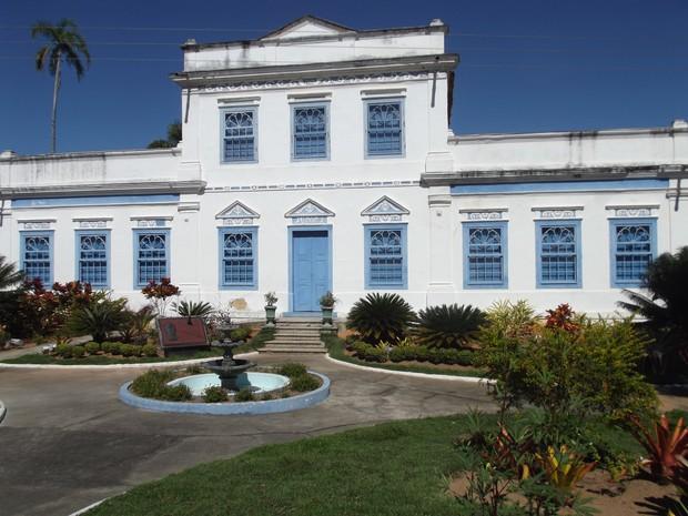 Museu de Araruama, RJ, está fechado por problemas estruturais (Foto: Heitor Moreira/G1)