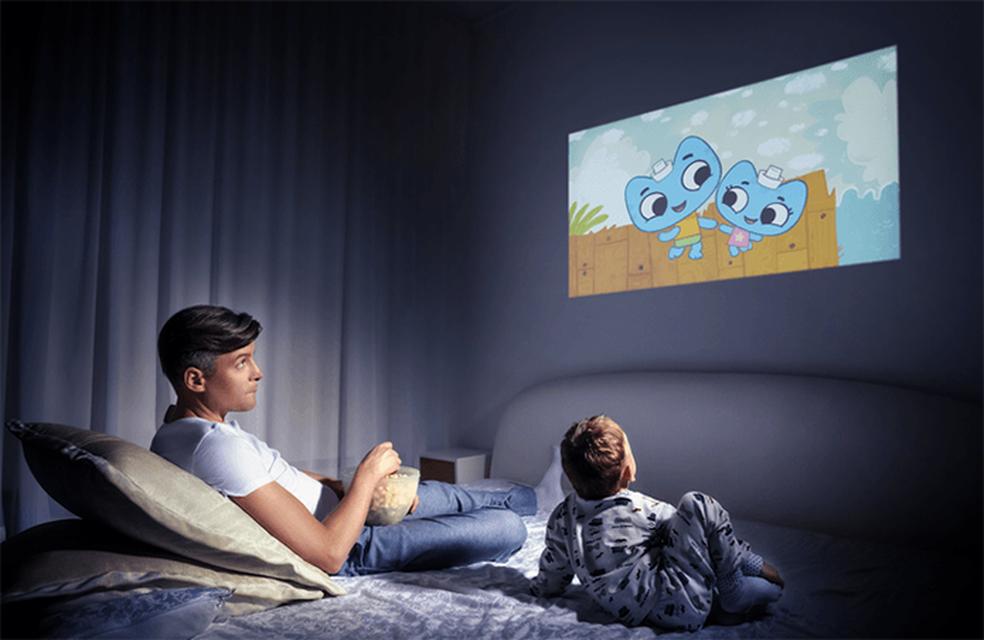 Fabricante garante autonomia de até três horas para vídeo (Foto: Divulgação/Cinemood)