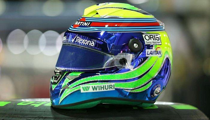 Capacete Felipe Massa Cingapura