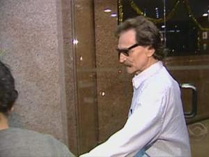 Belchior é visto em Porto Alegre (Foto: Reprodução/RBS TV)