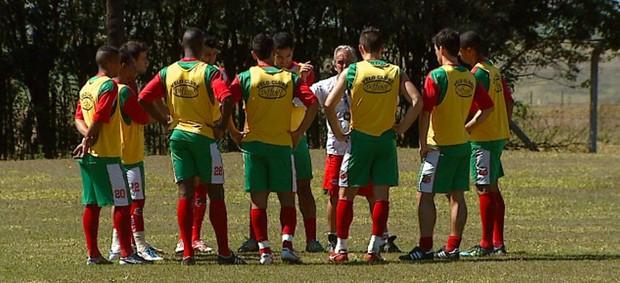 Treino Velo Clube (Foto: Wilson Aiello/ EPTV)