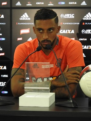 Cesar Martins Flamengo entrevista (Foto: Fred Gomes)