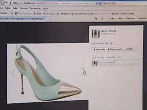 Lucas investiu nas redes sociais para apresentar os produtos (Foto: reprodução/TV Tem)