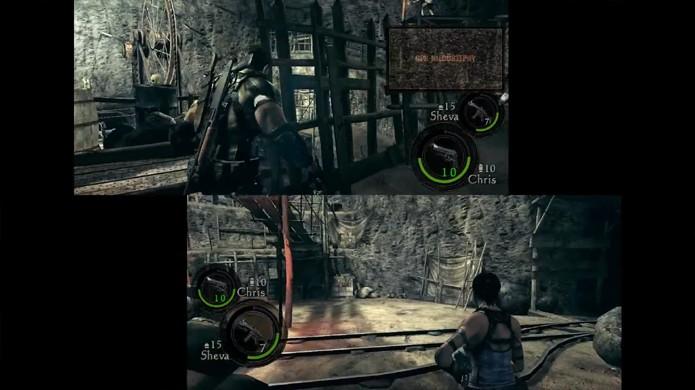 Jogadores reclamam que modo cooperativo de Resident Evil 5 Gold não funciona na versão Steam (Foto: Reprodução/YouTube)
