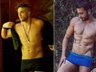 Ex-BBB Junior Gianetti ganha quatro quilos de músculos