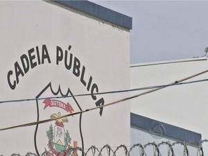 Cadeia Pública de Nova Mutum. (Foto: Reprodução / TVCA)