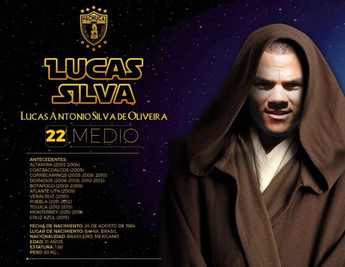 Lucas Silva Pachuca Star Wars