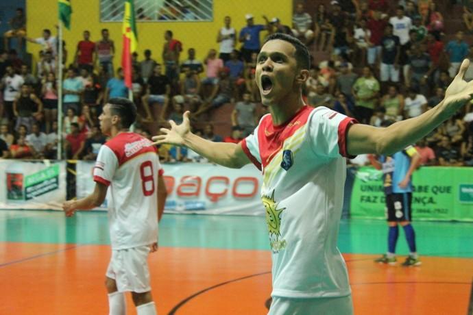 Curaçá x Cohab São francisco, Copa TV Grande Rio de Futsal (Foto: Emerson Rocha)