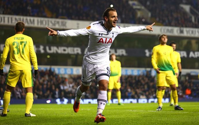 Roberto Soldado gol Tottenham (Foto: Getty Images)