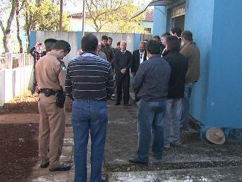 Delegacia de polícia de Ivaí é reaberta depois de cinco anos fechada (Foto: Reprodução / RPC TV)