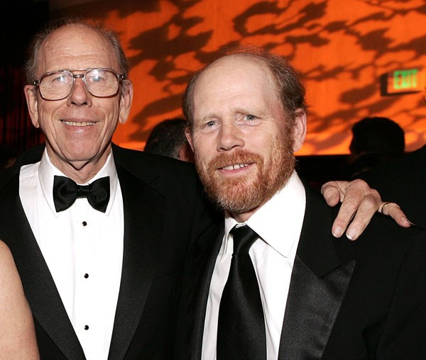 Rance com o filho Ron Howard (Foto: getty)