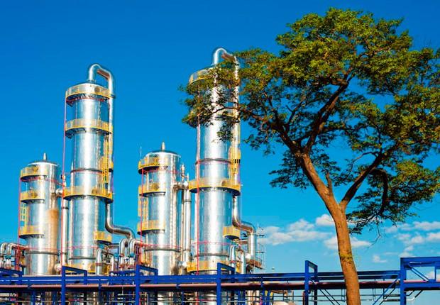 Unidade de etanol da Odebrecht Agroindustrial (Foto: Divulgação)