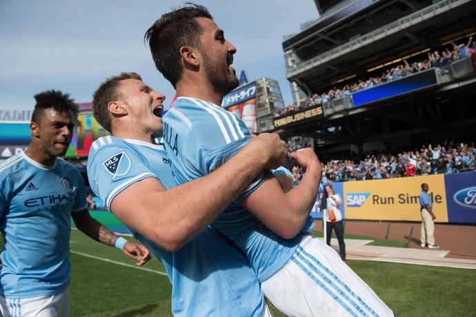 BLOG: Villa aproveita assistência de Pirlo e faz de voleio em vitória do New York City; assista