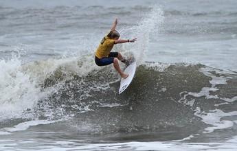 Primeira etapa do circuito paulista de surf de base tem parte adiada