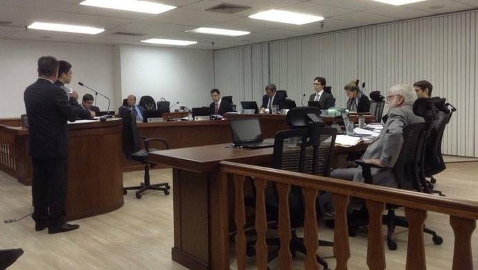 STJD, Treze, Campinense, julgamento (Foto: Phelipe Caldas / GloboEsporte.com)