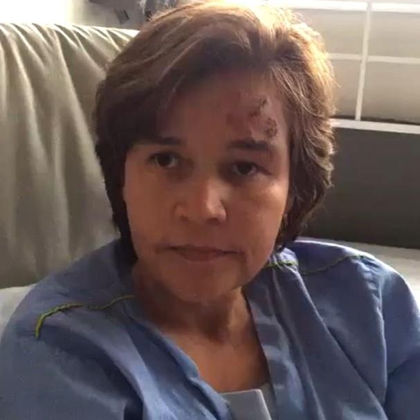 Claudia Rodrigues internada no hospital Albert Einstein (Foto: Reprodução/Instagram)