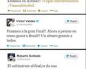 Após vaga na final, jogadores da Espanha comemoram na internet