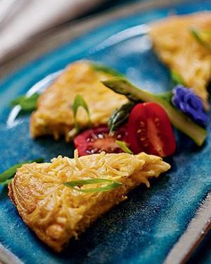 Omelete de espaguete (Foto: Ricardo Corrêa/Casa e Comida)