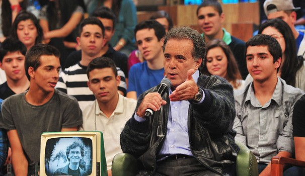 Tony Ramos Altas Horas (Foto: Globo/Reinaldo Marques )