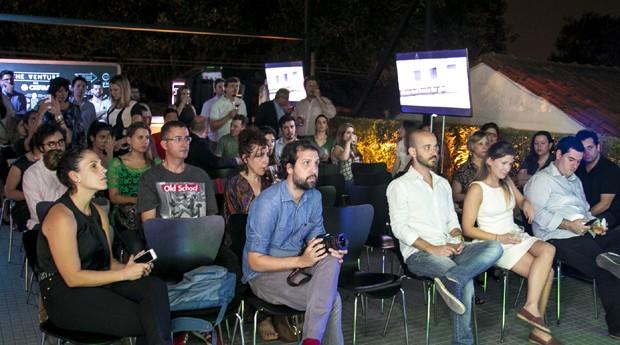 Evento promovido para fomentar negócios sociais em espaço de coworking (Foto: Divulgação/Projeto The Venture)