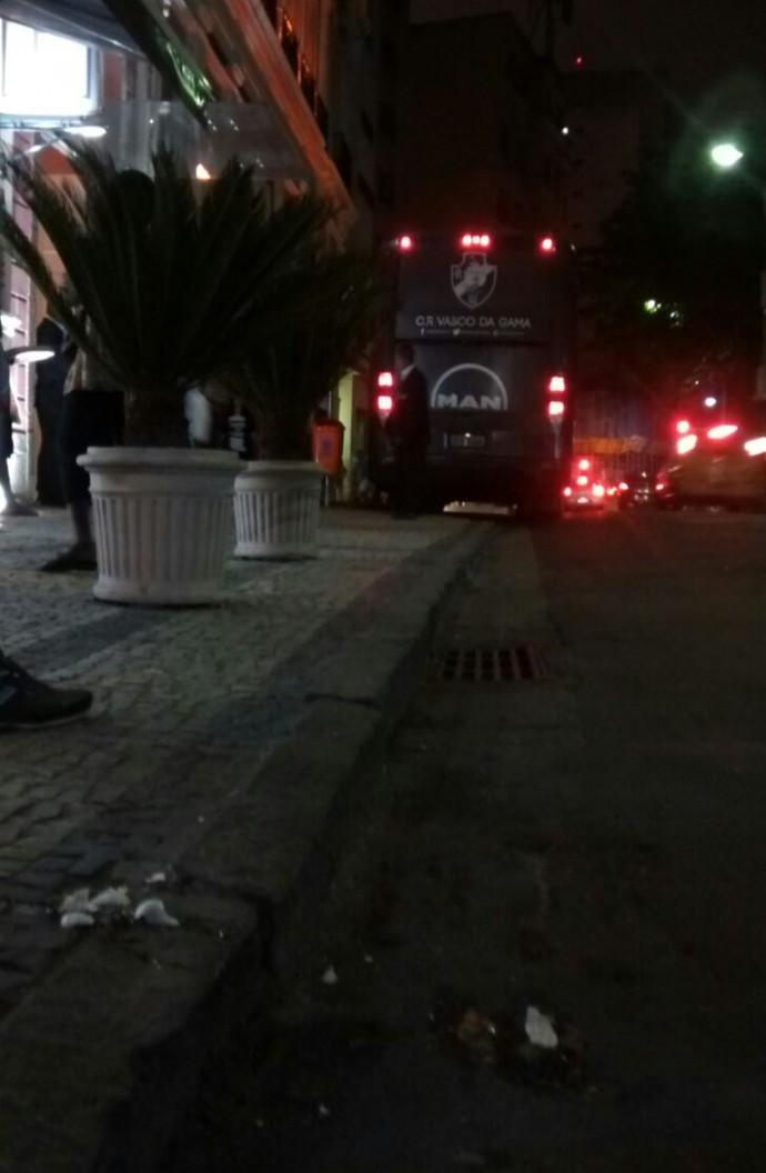 ônibus Vasco lapa (Foto: Divulgação)