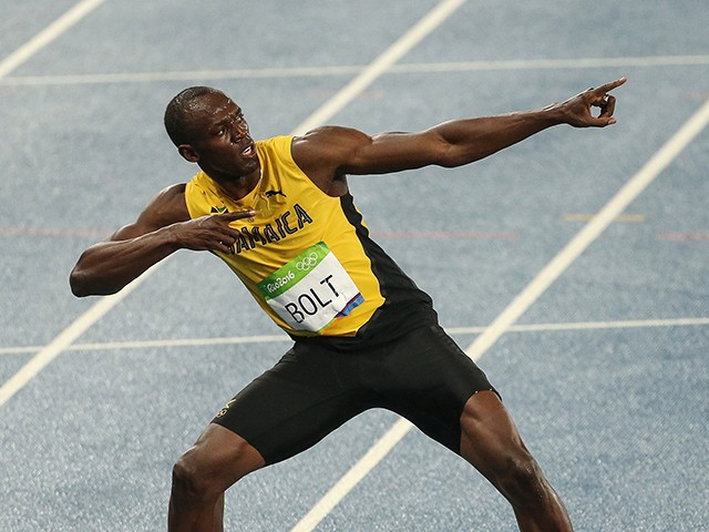 Usain Bolt ai se despedir das pistas (Foto: Getty Images)