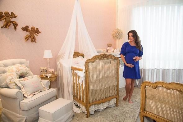 O quartinho da Maria Flor, filha da Deborah Secco, não é uma graça? (Foto: Reprodução/Instagram)