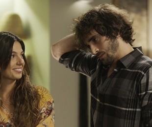 Isis Valverde e Fiuk em cena de 'A força do querer' | Reprodução