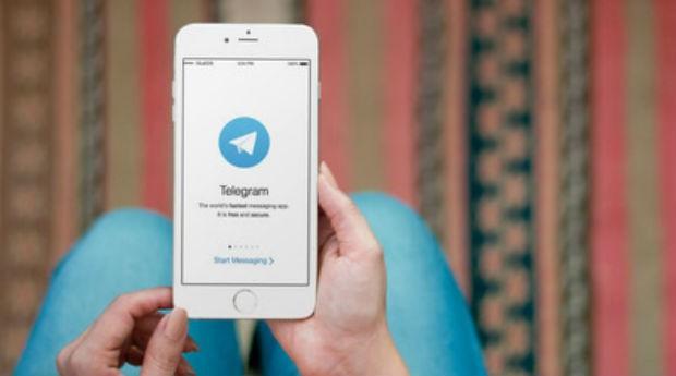 Telegram (Foto: Divulgação/PlaceIt)