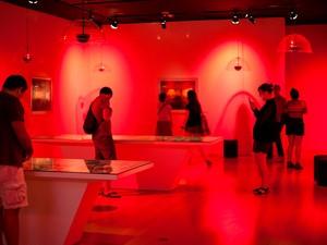 Sala Clube Berlim, que faz parte da exposição Zeitgeist, no CCBB de Brasília (Foto: Janaina Miranda/Estúdio Alecrim/Divulgação)