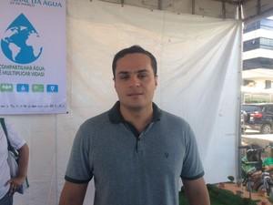 Secretário Alexandre Ayres disse que as atividades buscam uma reflexão da sociedade (Foto: Carolina Sanches/G1)