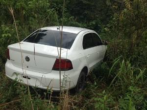 Corpo do dentista foi colocado dentro do porta-malas do próprio carro e enterrado em uma cova rasa. Marabá (Foto: Divulgação/ Polícia Civil)