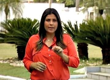 Trisha Guimarães (Foto: Reprodução/TV Liberal)