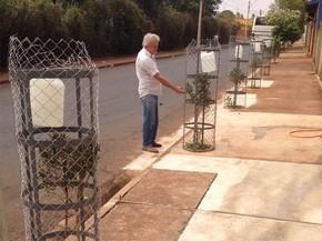Empresário investe em sistema de irrigação para evitar desperdício de água (Foto: Jornal A Cidade)
