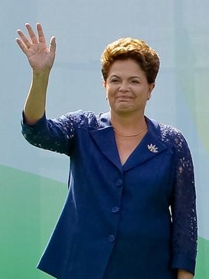 A presidente Dilma Rousseff em viagem à Índia na semana passada (Foto: Roberto Stuckert Filho / Presidência)