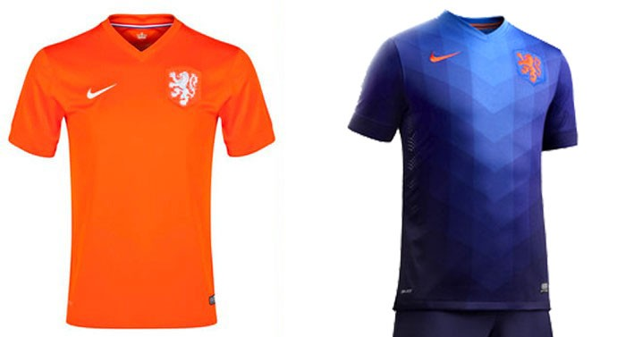 camisa Holanda Copa do Mundo Blog