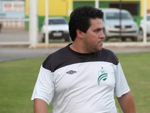 Fernando Marchiori, novo técnico do Cuiabá (Foto: Assessoria/Luverdense)