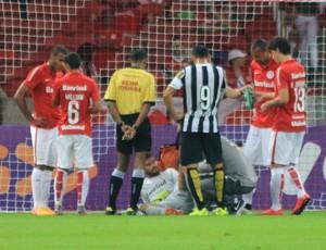 Internacional x Santos Beira-Rio Brasileirão Inter Alisson (Foto: Diego Guichard/GloboEsporte.com)
