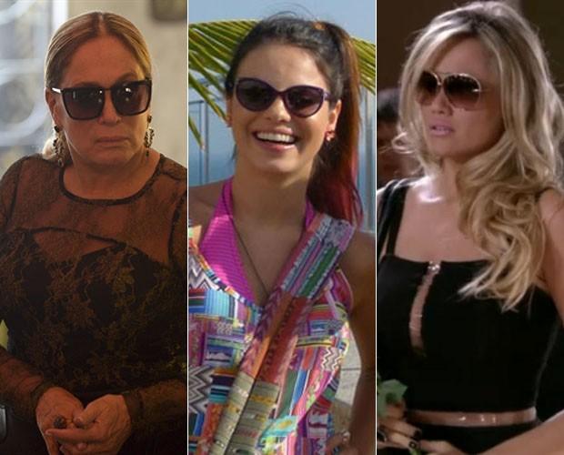 c3840f34c5451 Atrizes usam óculos para compor personagens na telinha! (Foto  TV Globo    Vídeo