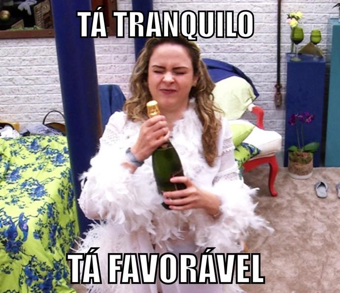 Tá tranquilo tá favorável (Foto: TV Globo)