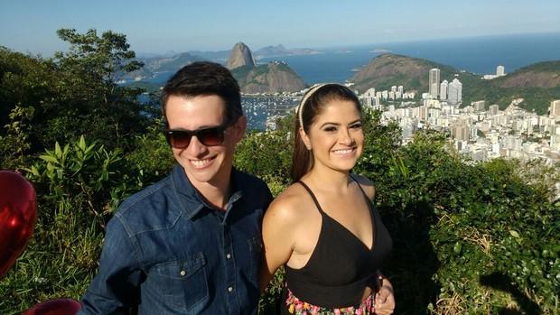 Maria de Cézar e Everaldo Jr (Foto: Gabi Amorim / Divulgação )