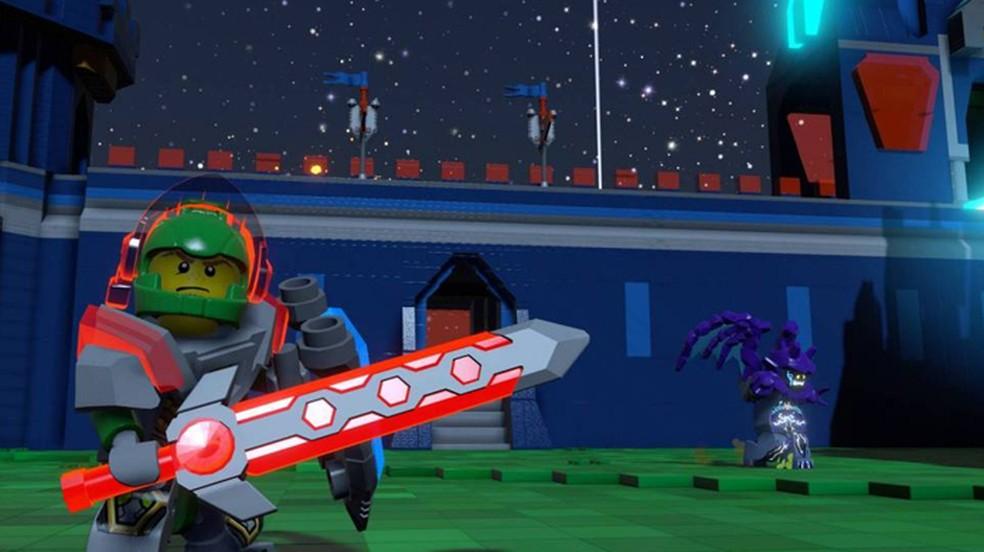 Expansão Nexo Knights levará cavaleiros e castelos para LEGO Worlds (Foto: Reprodução/Bricks to Life)