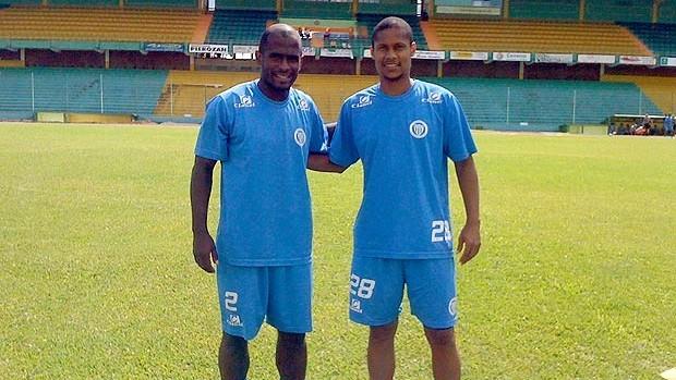 Cadu e Thiago Maciel, ex-Vasco, reeditam dupla no Ypiranga (Foto: Divulgação / Arquivo Pessoal)