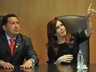 Chávez e Kirchner assinam acordo de cooperação entre petroleiras