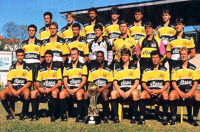 Criciúma campeão Copa do Brasil 1991 (Foto: Divulgação / Criciúma EC)