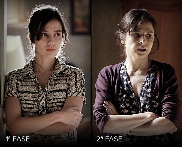 Cora é uma mulher rancorosa e que atrapalhou os planos de sua irmã, Eliane (Foto: Império/TV Globo)