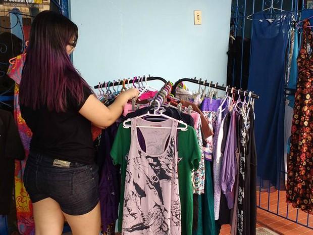 34821b784ac G1 - Brechó de roupas terá consultoria de moda com blogueira