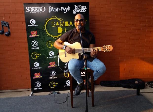 TV Integração faz evento para comemorar sucesso do 'Circuito Junino' e lançar 'Samba D+' (Foto: Fernanda Resende)