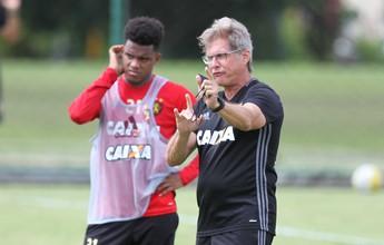 Oswaldo de Oliveira repete time e define Sport para pegar Furacão